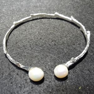 Hobbit/Fairy Series: Sterling Silver with Pearls